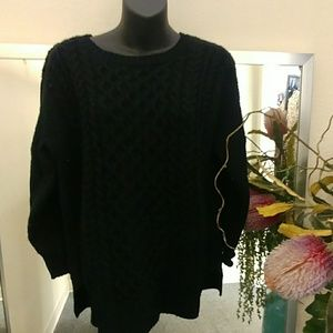 Aqua Brand Cable Knit Sweater